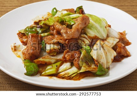 twice cooked pork, chinese, cooking