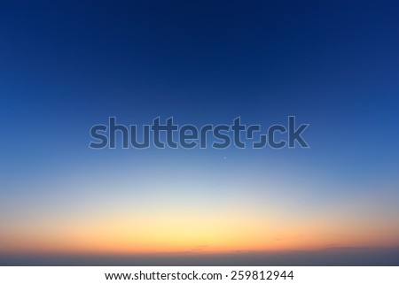 twilight skys - stock photo
