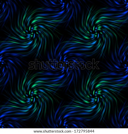 Twirls abstract. Seamless colorful abstract background pattern