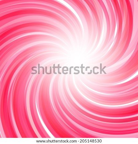 Twisted candy background. Strawberry yogurt, peppermint candy, sweet backdrop - stock photo