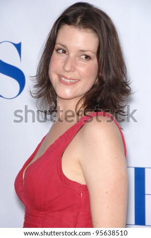 Two and a Half Men star MELANIE LYNSKEY at the CBS Summer Press Tour Stars Party at the Rose Bowl in Pasadena, CA.  July 15, 2006  Pasadena, CA  2006 Paul Smith / Featureflash - stock photo