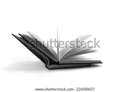 two books - stock photo