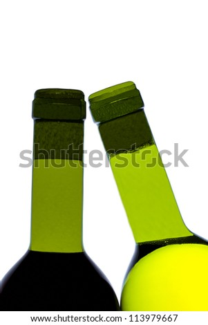 Two bottles on wine