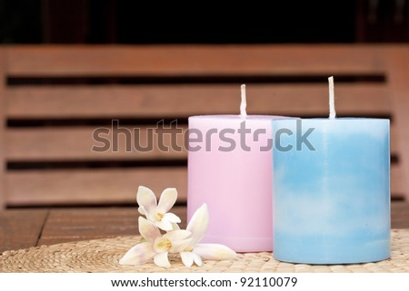Two candle , spa