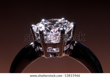 Two carat diamond ring