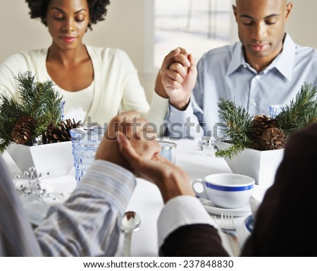 African American Woman Praying Stock Photos Images