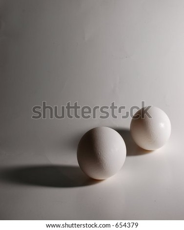 Two Eggs, complimentary lighting