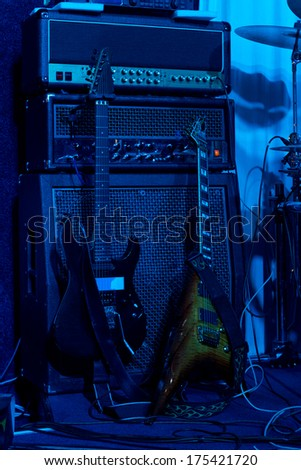 Backstage Concert Stock Images Royalty Free Images
