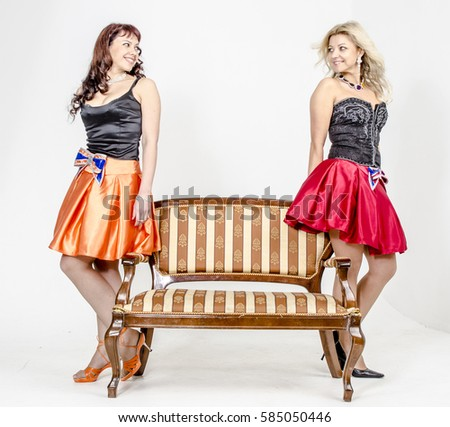 Girls in Cocktail Dresses