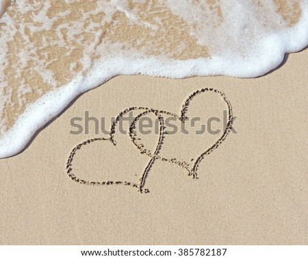 Writing In The Sand Stock Images, Royalty-Free Images ...