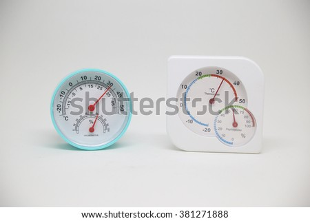 Two hygrometer