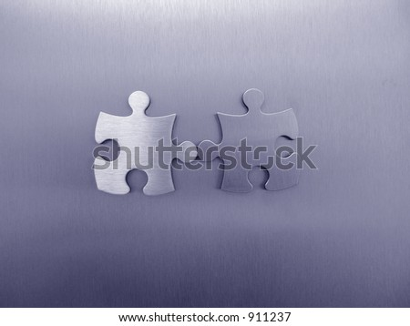 Two jigsaw element