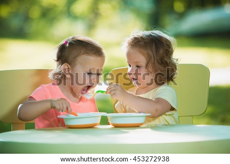 Year Old Child Eating Stock Images Royalty-Free Images