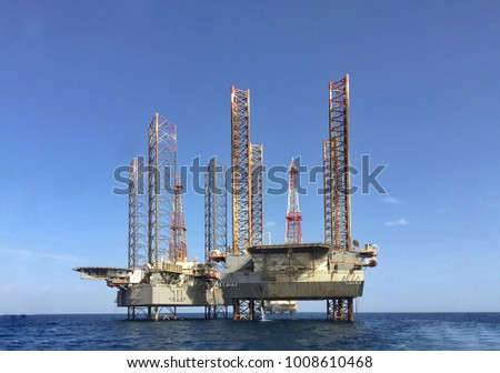 Two offshore Jackup Drilling Rigs