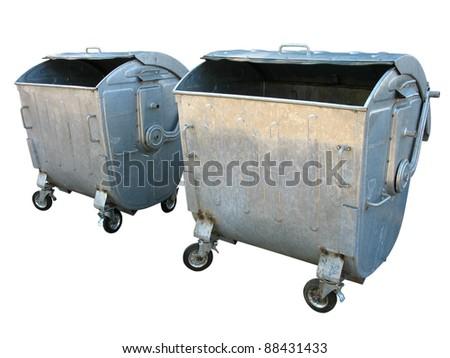 Old Metal Trash Can Bin Model Lowes