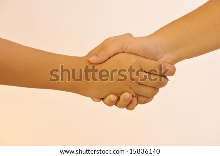 two people shake Hands