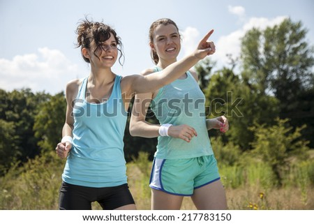Nude teen girlsjogging — photo 14