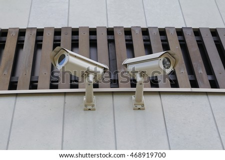 Two security cams, for video surveillance