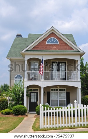 Two Story Cottage Style House