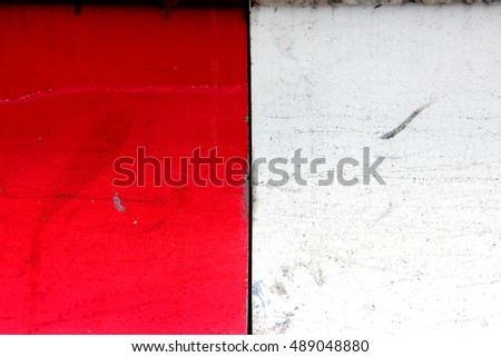 Two tone or double colour abstract background shot