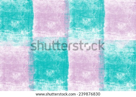 two tone smudge background made up of squares  - stock photo