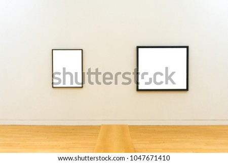 Two White Clipped Paintings Wooden Carved Stock Photo (Royalty Free ...