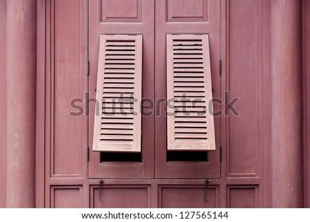 Two Windows on The Windows(2) - stock photo