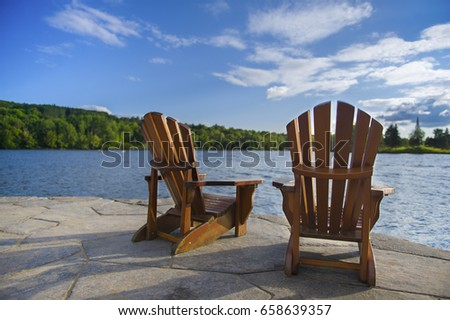 Adirondack Chair Stock Images Royalty Free Images