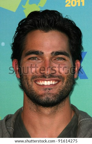 Tyler Hoechlin at the 2011 Teen Choice Awards, Universal Amphitheater, Universal City, CA. 08-07-11
