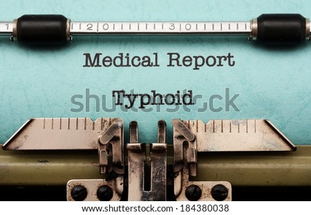 thyphoid fever The term 'enteric fever' (ef) includes typhoid and paratyphoid fevers typhoid  fever is caused by a gram- negative organism, salmonella enterica subspecies.