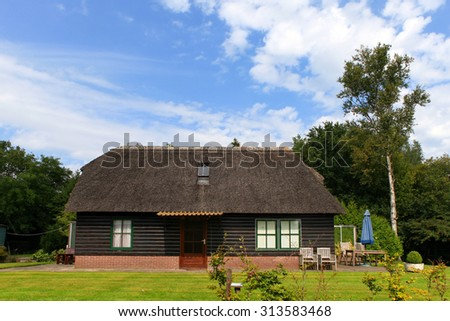 Typical Dutch country house