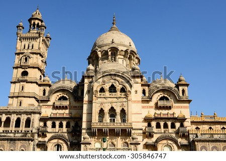 Typical example of Indian architecture in the state Gujarat