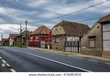 Ardeal stock images royalty free images vectors shutterstock - Saxon style houses in transylvania ...