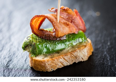 Typical spanish appetizer. - stock photo