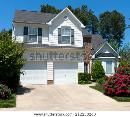 Typical suburban house