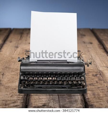 Typing. - stock photo