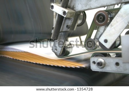 typography working machine #6 - stock photo