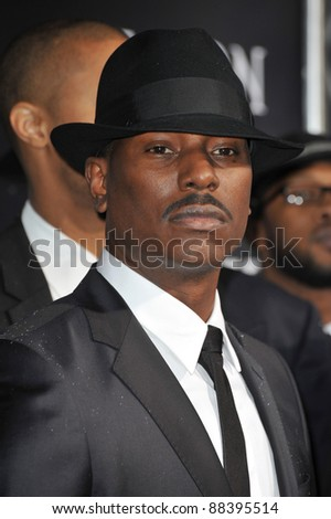 "Tyrese Gibson at the world premiere of his new movie ""Legion"" at the Cinerama Dome, Hollywood. January 21, 2010  Los Angeles, CA Picture: Paul Smith / Featureflash"