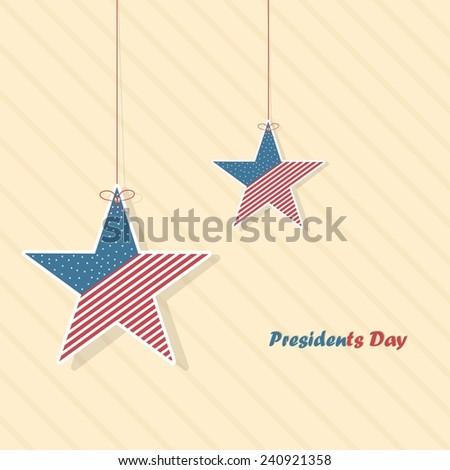 U.S.A - Presidents Day - stock photo