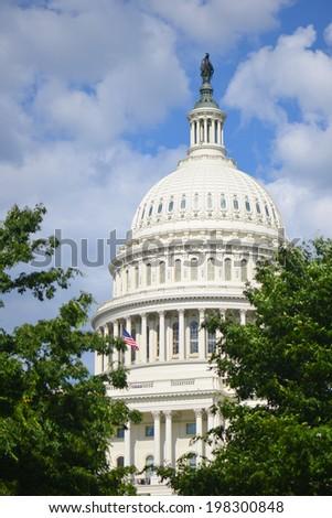 U.S. Capitol Building - Washington D.C. - stock photo