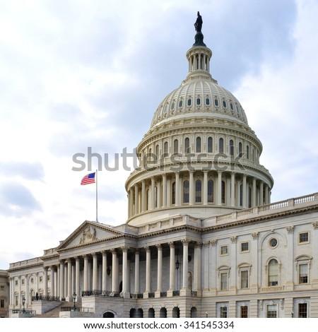 U.S. Capitol (Washington DC, USA) - stock photo