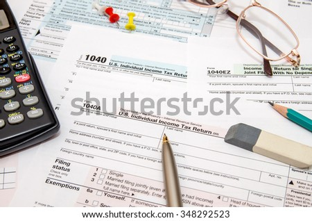 U.S. Individual Income Tax Return, form 1040