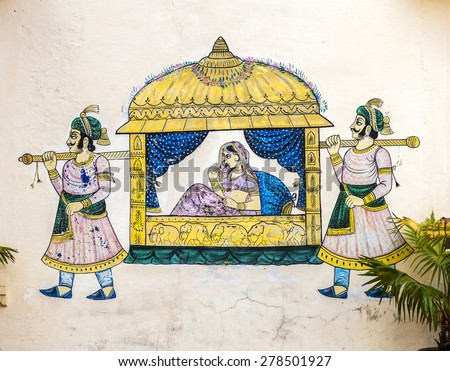 Image result for palanquin with bride