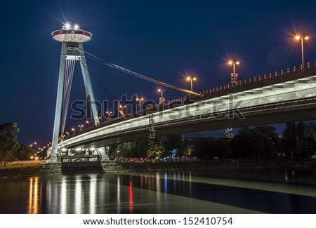UFO Bridge - stock photo