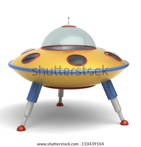UFO flying saucer toy