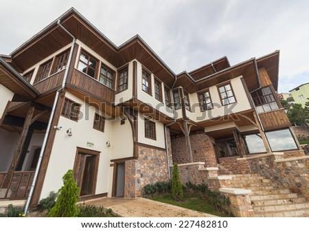 Uftade Hazretleri Dervish Lodge in Bursa - stock photo