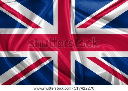 UK national flag. - stock photo