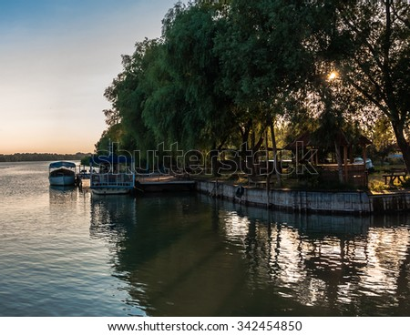 Ukranian River - stock photo