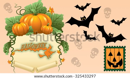 Ultra high definition Halloween image