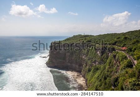 Uluwatu, It's a very well known destination among surfing enthusiasts, Bali, Indonesia